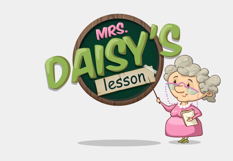 Mrs. Daisy's Lesson